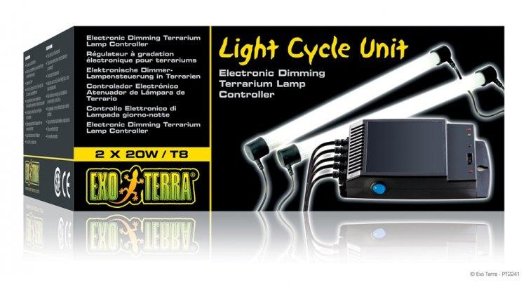 Hagen Exo Terra Light Cycle Unit Пускатель 2x20Вт Т8 Т10 с