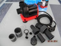 "REEF OCTOPUS помпа ES-3500 Water Pump Essence series 3800л/ч, h2,3м, 35Вт, вход D32(1""), выход D25(3/4\"")"